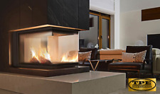 NBU 11 - Three sided Wood Burning Fireplace insert/cassette Hardwood/Log burner