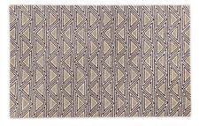 Handmade Taupe/Brown Modern Wool Area Rug 8' x 10'
