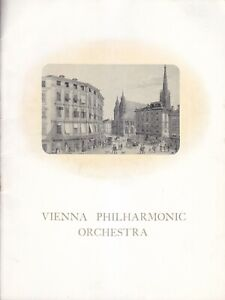 Concert Programme 1948 Wilhelm Furtwängler Albert Hall VPO Goethe Concert