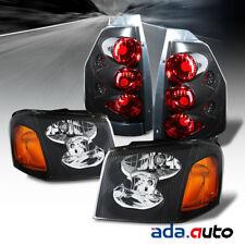2002-2009 Gmc Envoy [Urban Black Series] Headlights + Tail Lights [Combo Set](Fits: More than one vehicle)