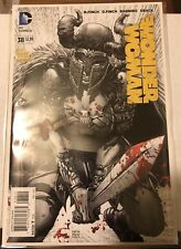 Dc New 52 Wonder Woman 38 David Finch 2nd Printing Bloody B&W Variant