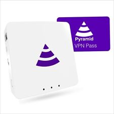 More details for pyramid® wifi (2021) - preconfigured vpn router (30 day pass included)