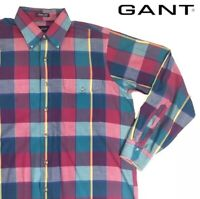 Gant Foxhunt Plaid Long Sleeve Checkered Button-Up Casual Shirt