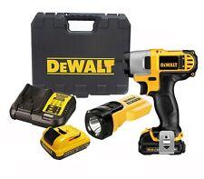 DEWALT DCF815D2T 10.8V 2.0Ah XR Li-Ion Impact Driver + LED Work Light / 220V