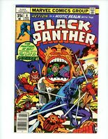 Black Panther #6, VF-, 1977 Marvel Comics Newsstand First appearance of Jakarra!