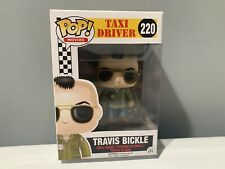 Funko Pop! Movies Taxi Driver Travis Bickle 220 Vaulted w/Pop Stack