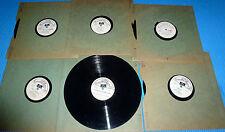 """Buddy Morrow 6X10"""" 78 rpm Promo Lot HEY MRS JONES, TRAIN TRAIN TRAIN, DIGGIN'"""