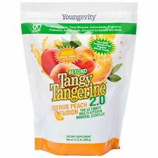Youngevity Beyond Tangy Tangerine BTT 2.0 Gusset Bag (Scratch & Dent)