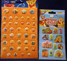 "**Winnie the Pooh ""3D-Sticker"" + Puffy-Sticker**neu**Panini"