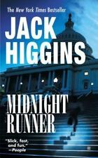 Midnight Runner by Jack Higgins (2003, Softcover)
