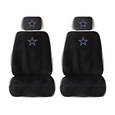 New Dallas Cowboys Car Truck Front Seat Cover w/ Head Rest Cover Universal - 2Pc