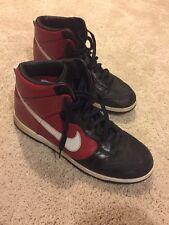 2007 Nike SB Dunk High Hi SUPREME VARSITY RED BLACK WHITE  317893-611 12