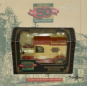 Vintage ERTL 50th Anniversary Edition Diecast Metal Bank ~ Ford Model T Delivery