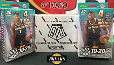 MEMPHIS GRIZZLIES 2019-20 Mosaic Basketball 12 Cellos + 2 Hanger Box Break #1020