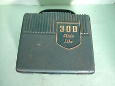 VINTAGE BOOTS PHOTOGRAPHIC SLIDE CASE MADE OF RUBBER