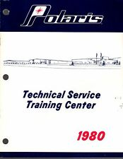 1980 POLARIS SNOWMOBILE TECHNICAL SERVICE TRAINING CENTER MANUAL NEW (483)