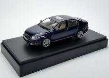 VW PASSAT B7 HIGHLINE TDI TSI 2010 SALOON NIGHT BLUE 1:43 SCHUCO (DEALER MODEL)