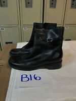 Clarks Black Leather #32815 Zip Up Leather Ankle Boots Womens Sz 6.5M