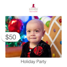 $50 Charitable Donation For: St. Jude Holiday Party
