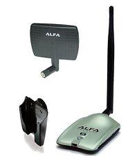 Alfa Awus036nh 2000mw 2w 802.11g/n High Gain Usb Wireless G / N Long-range Wifi