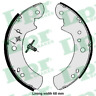 Rear Brake Shoes Kit for CARBODIES FL2 2.2 D 2.3 2.5 FX FAIRWAY 2.7 TD FX4