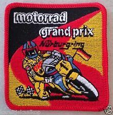 Vintage Sew-on Patch Nurburgring Motor Rad Grand Prix