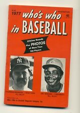 1977 Who's Who in Baseball