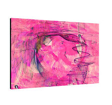 Canvas Picture Paul Sinus Enigma Series 120x80cm Timeless Shocking Pink