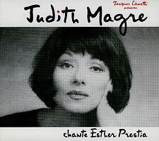 JUDITH MAGRE  chante esther prestia / DIGIPACK 2012 REMASTERISÉ