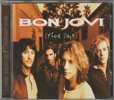 Bon Jovi - These Days Remaster **1991 Made In The Germany CD Album** VGC