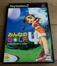 Minna No Golf 4 - Sony PlayStation 2 PS2 - NTSC J (JAPAN) - COMPLETE!