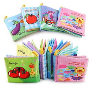 Stoffbuch für Babys Spielzeug Pädagogisches Kleinkindspielzeug Soft Bilderbuch C