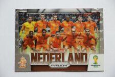 Carte Panini Prizm Coupe du monde 2014 Equipe Pays-Bas # 18