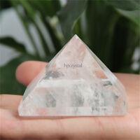 1.53 inch FREE SHIPPING! Rare Natural Healing Clear Quartz Crystal Pyramid