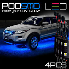 BLUE LED Underbody Glow Under Car Neon Lights Rock Kit for Ford Escape