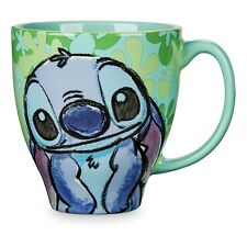 NEW DISNEY STORE CHARACTER STITCH PATTERN MUG LILO ALIEN CERAMIC CUP