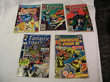 Fantastic Four Annual 25 PLUS #171, 260, 345, 361 - Set of 5