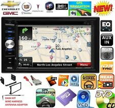 CHEVY-GMC TRUCK-VAN-SUV GPS NAVIGATION SYSTEM CD DVD USB Bluetooth Radio Stereo