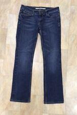 Topshop Moto Straight Leg Dark Blue Martha Jeans, Size 10 W 28 L 28