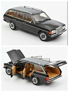 1/18 NOREV Mercedes Benz 200T 1982 Black New Shipping Home End July