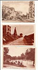 N°244- 3 cartes postales anciennes  vierges animées  très bon état-paysages
