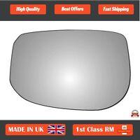 Honda Jazz Mk2 2007-2014 Left Passenger Side Convex wing mirror glass 503LS