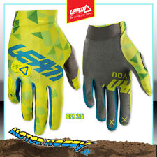 GUANTO GLOVE CROSS ENDURO QUAD LEATT GPX 2.5 X-FLOW 2018 LIME TEAL TAGLIA L
