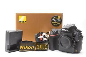 Nikon D810 36.3MP Digital SLR Camera (Body Only) - Black ***89,846 shots***
