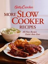Betty Crocker More Slow Cooker Recipes ( Hardcover-Spiral Edition)