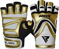 RDX Weight Lifting Gym Gloves Fitness Bodybuilding Training Workout GD