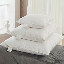 20 x 20 INCH DUCK FEATHER CUSHION PADS INNERS 100% COTTON INSERT FILLER 50 cm