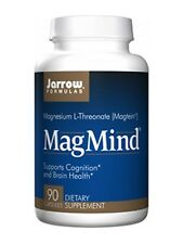 Jarrow Formulas Magmind, Supports Cognition, 90 Capsules - Brain Health, Memory