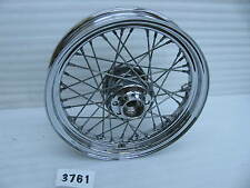 "Take off Harley-Davidson 16"" x 3"" Chrome Front Spoke Wheel #3761"
