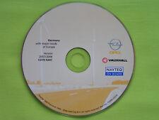 NAVIGATION OPEL CD 70 NAVI DEUTSCHLAND 2008 ZAFIRA B ASTRA H CORSA SIGNUM MERIVA